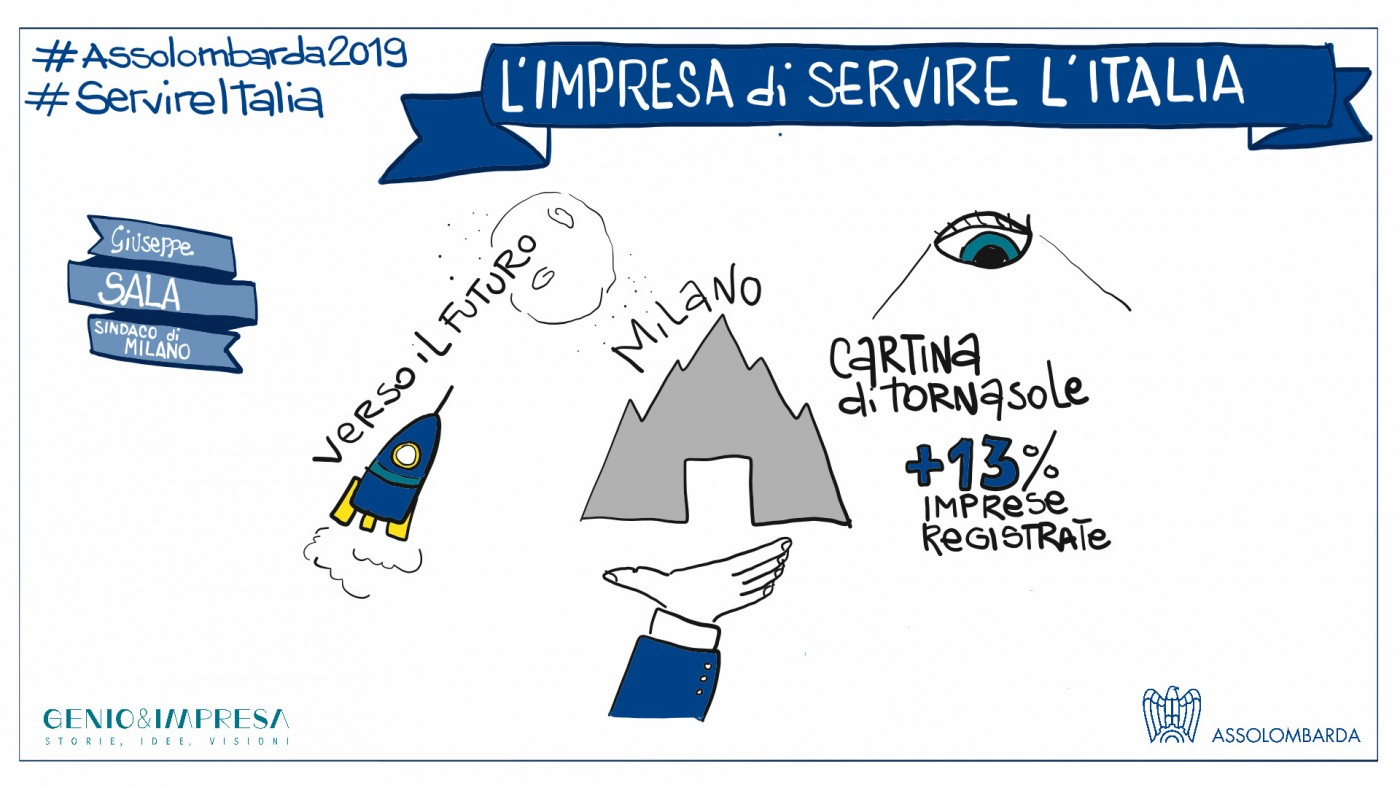 Impresa di servire l'Italia - Intervento di Beppe Sala