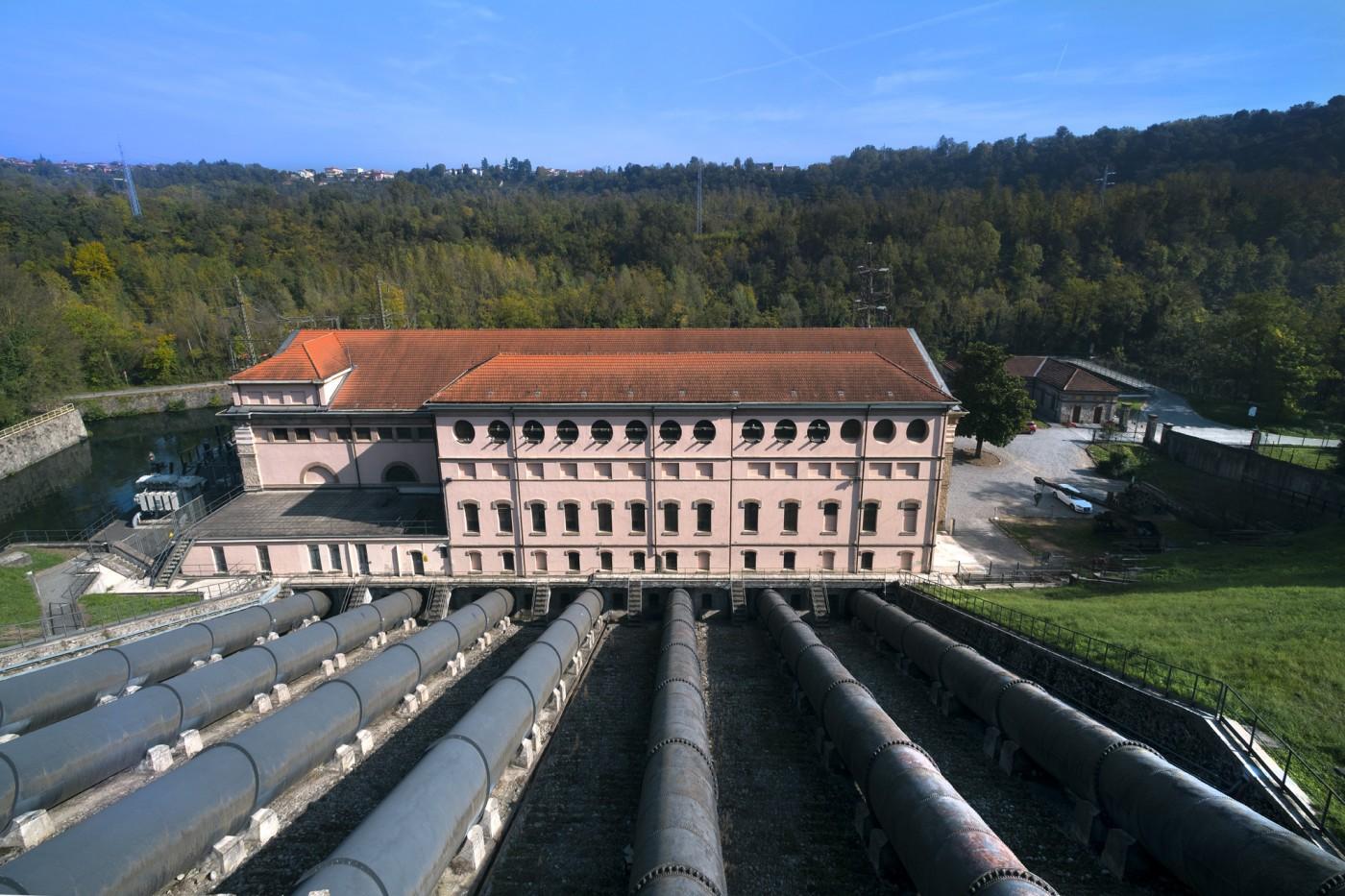 La Centrale Bertini, la prima idroelettrica del Gruppo Edison - Foto di Niccolò Biddau