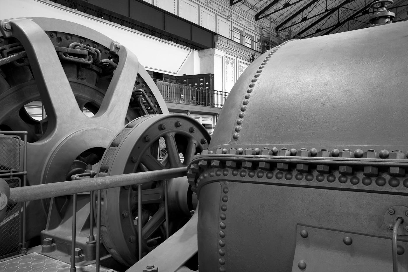 Un particolare della Centrale Bertini del Gruppo Edison - Foto di Niccolò Biddau