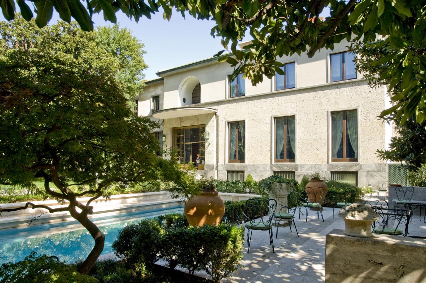 Villa Necchi Campiglio - Esterni