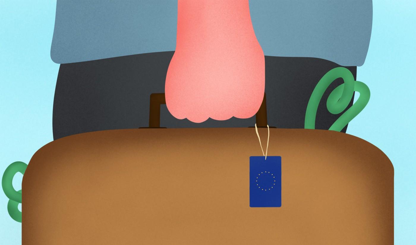 L'avventura europea di Greenrail secondo l'illustratore Burrnd