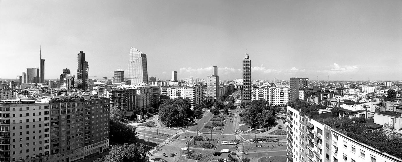Panoramica di Piazza della Repubblica - Foto di Niccolò Biddau