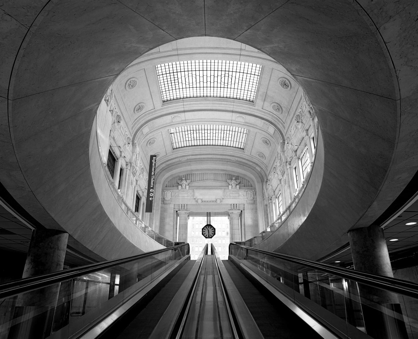 La stazione centrale di Milano - Foto di Niccolò Biddau