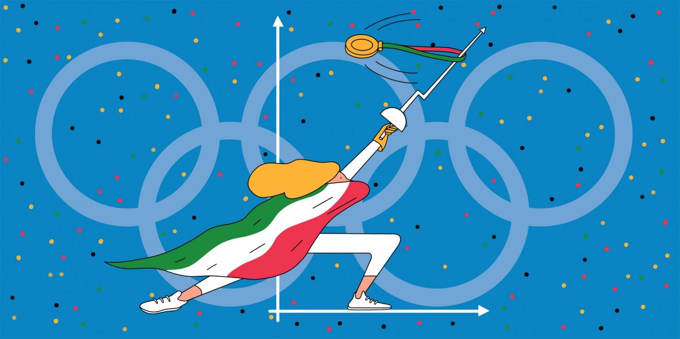 L'Impresa sportiva secondo l'illustratrice Elena Xausa