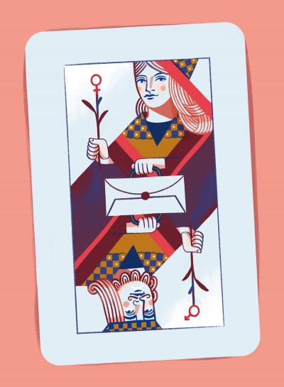 La parità di genere raccontata da Zeta Service - Illustrazione di Marta Signori